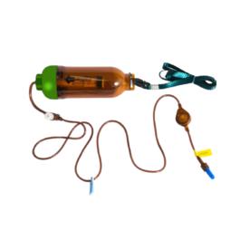 Pompa elastomerica UV pentru tratament lunga durata (tratament chimioterapie)