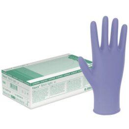 Manusi chirurgicale pudrate din nitril, 150 buc/cutie, Braun