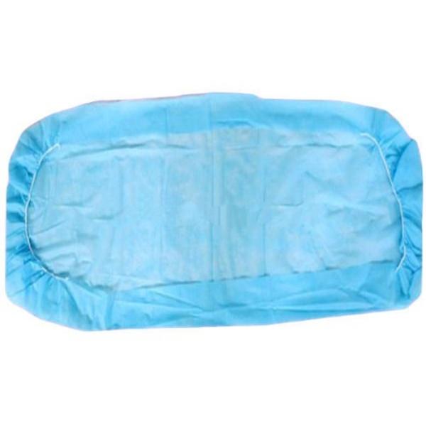 Cearceaf impermeabil de pat / targa, de unica folosinta, cu elastic la colturi.